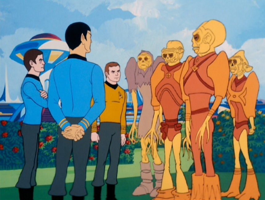 Image result for star trek animated series